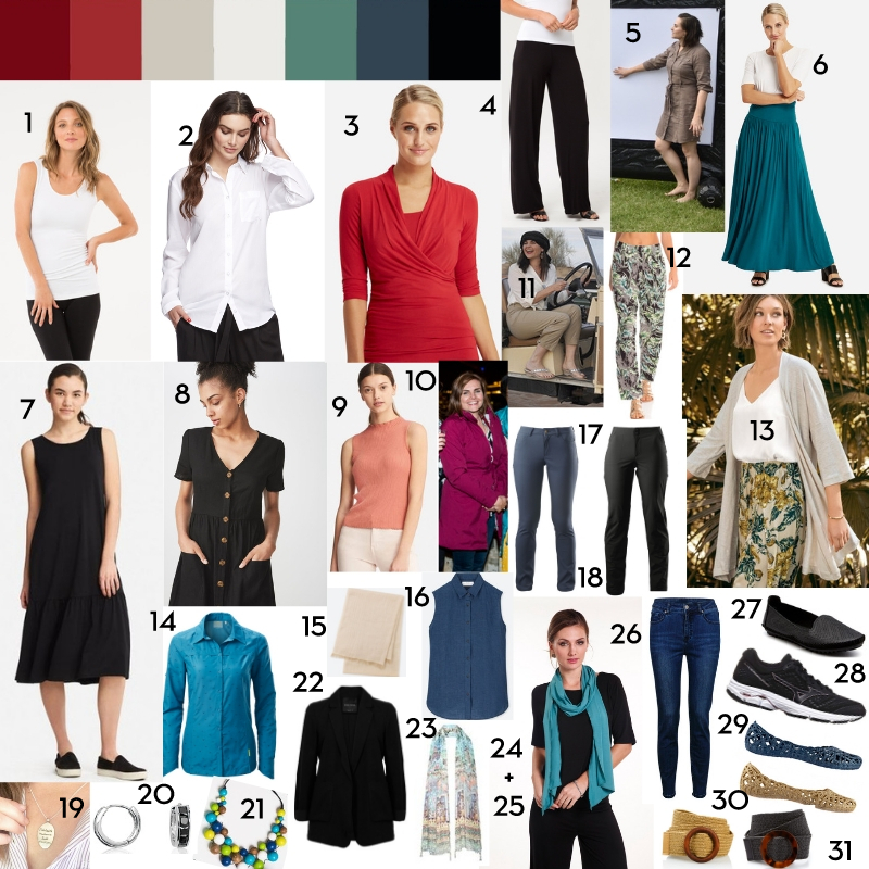 Capsule Wardrobe for 2019 – Be A Fun Mum