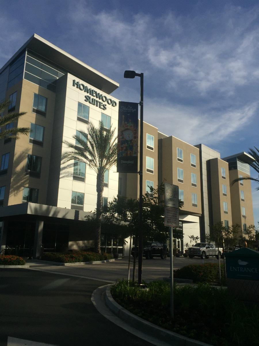 Hilton Homewood Suites Disneyland Hotel