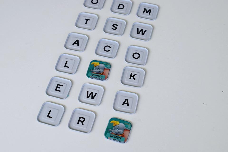 Disney Words Games - memory game