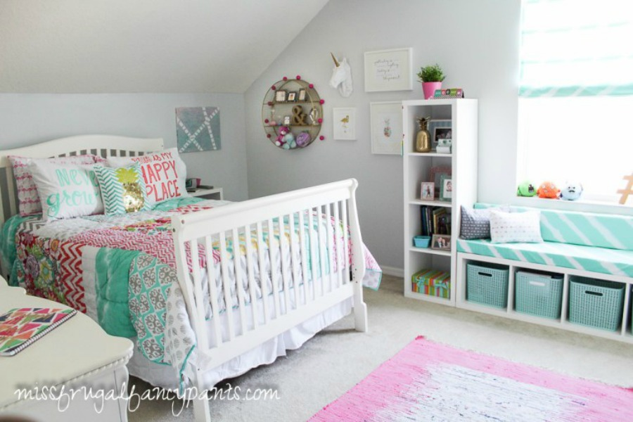 Miss Frugal Fancy Pants teenager room