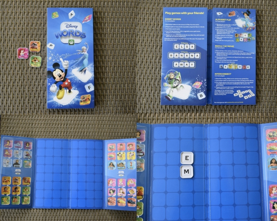 Disney Words by Woolworths Collector Case