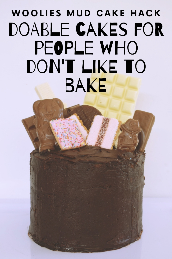 Woolies Mud Cake Hack for people who don't like to bake