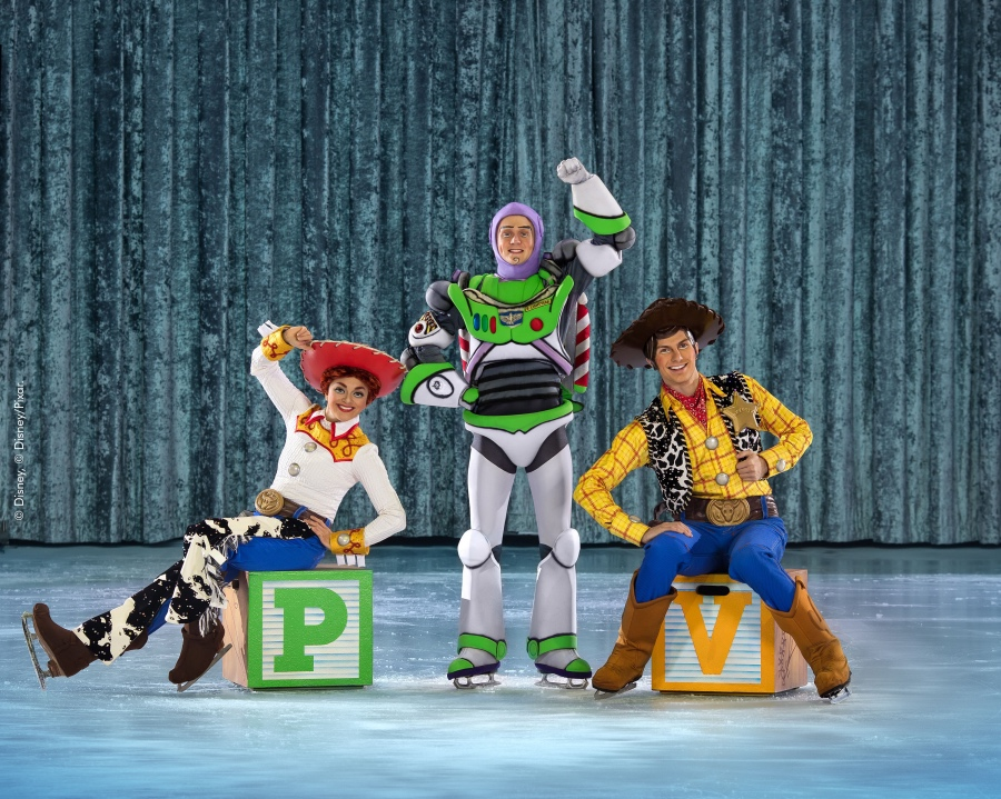 Disney on Ice - Woody, Buzz Lightyear and Jessie
