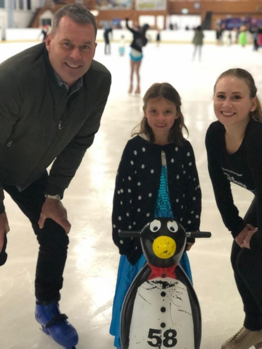 Disney On Ice - Ambassador Tom Williams and Anna Bradshaw
