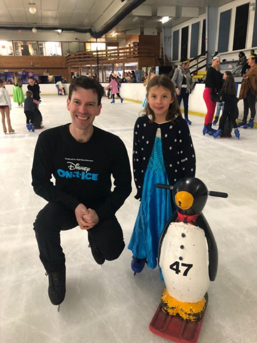 Disney On Ice Skater - Grant Marron