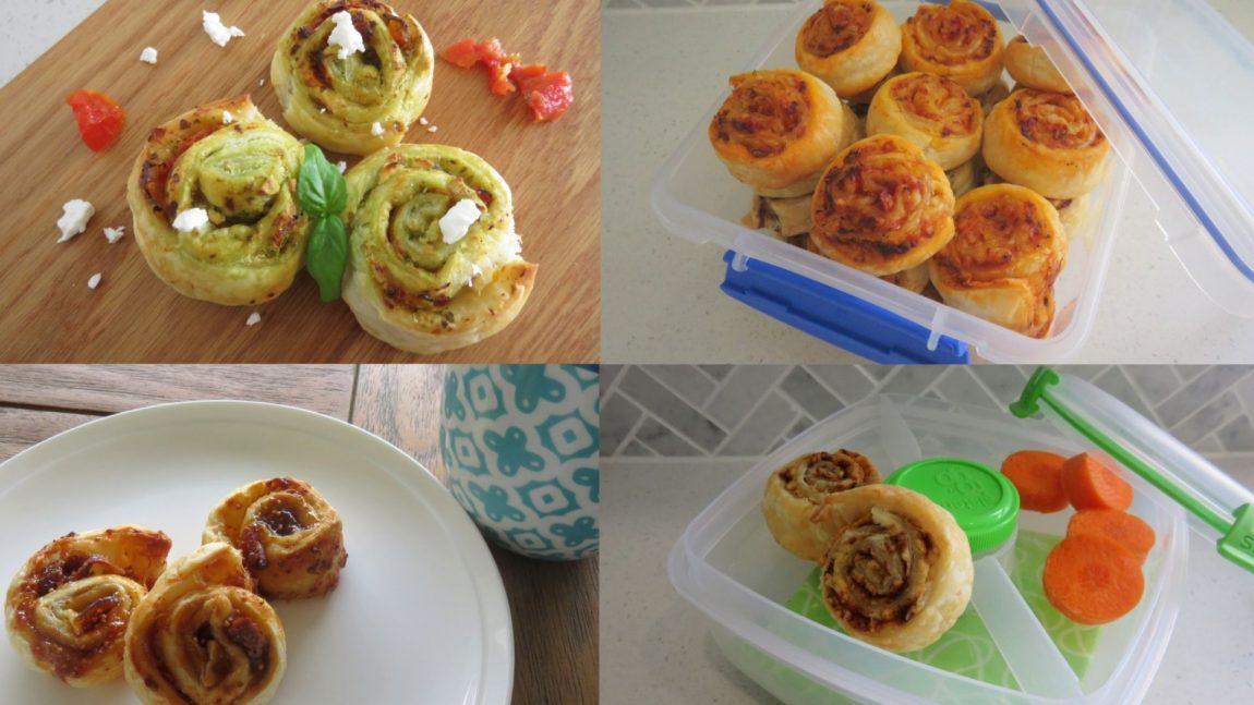 scrolls 4 ways - lunch box ideas for kids
