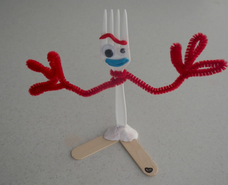 Make Forky from Toy Story 4