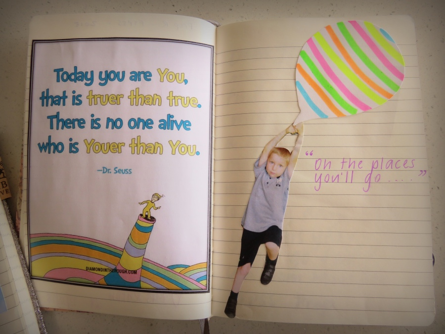 Keepsake-idea-for-kids - graduation / school book