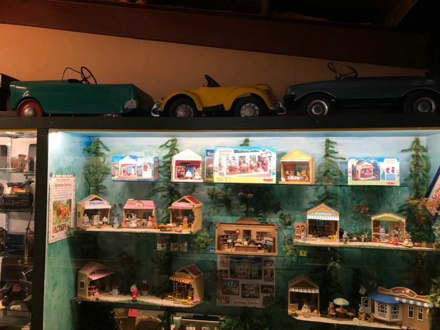 pedal cars and sylvanian families