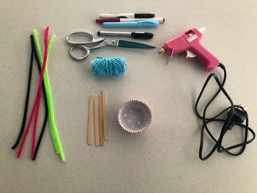 materials Paddle pop stick ballerina craft