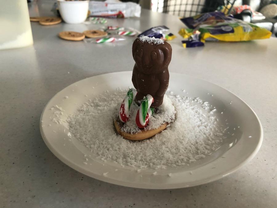 Koala on Skis Christmas Biscuits