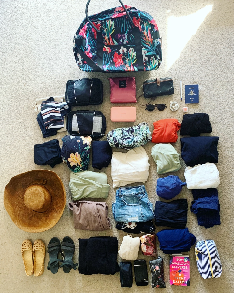 packing light for Asia -- carry on luggage only