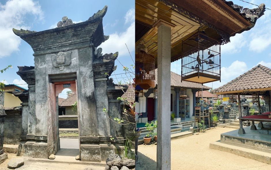 Local house in Ubud