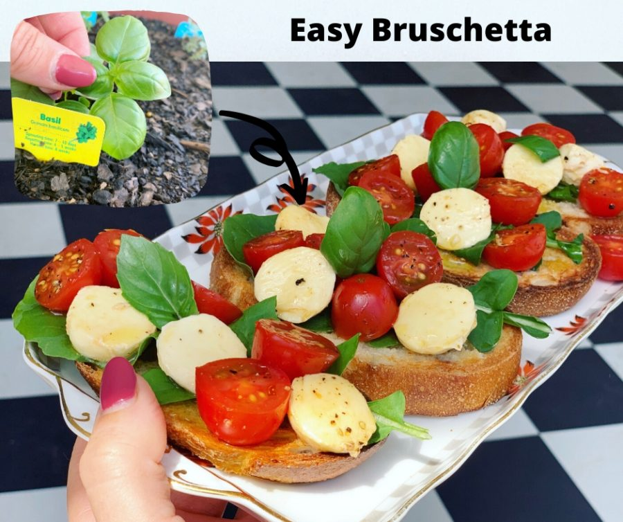 Easy Bruschetta recipea