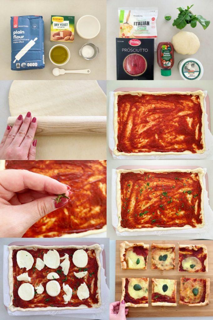 Margherita-Style Pizza