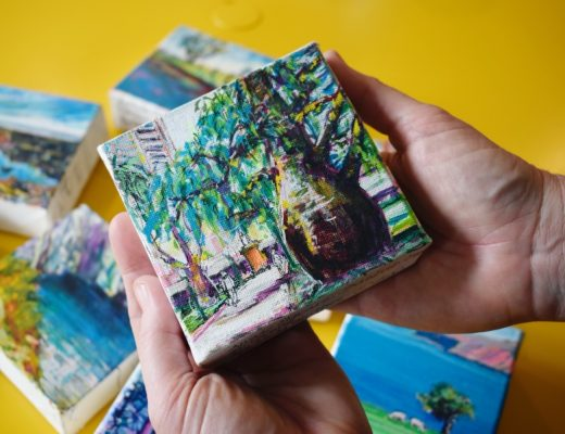 Kelly Southee Artist -- Mini Landscape Drawings