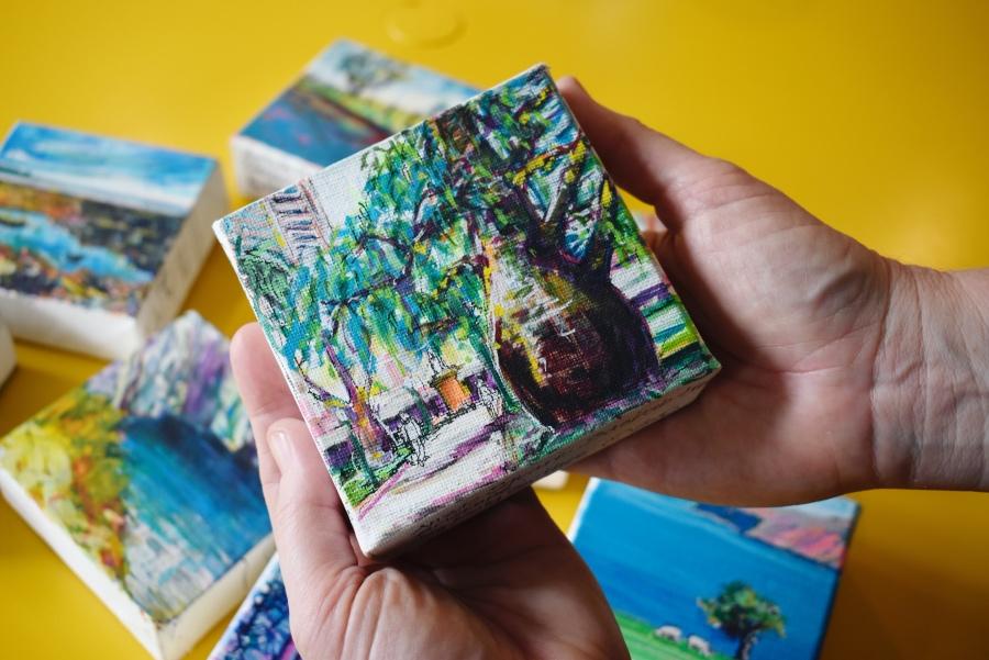 Kelly Southee Artist -- Mini Landscape Drawings