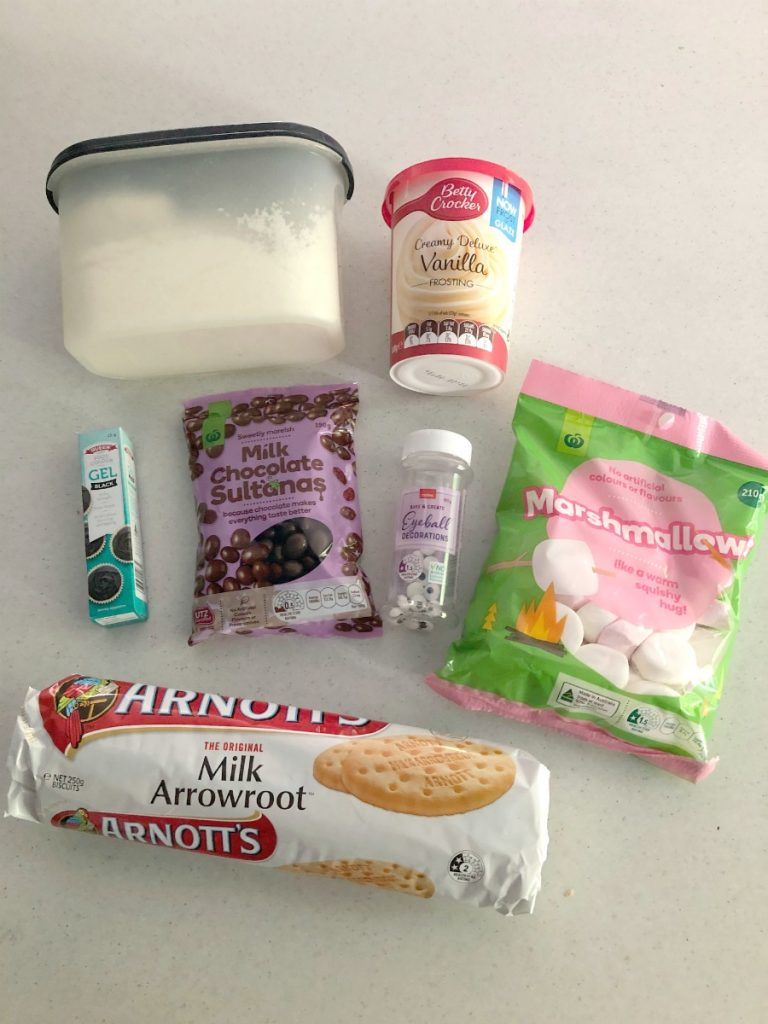 ingredients for koala biscuits