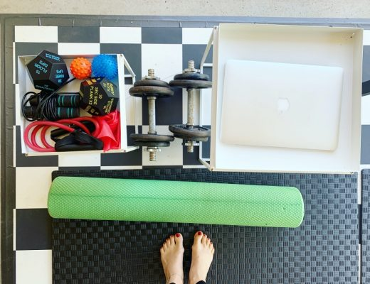 how to make a gym space at home