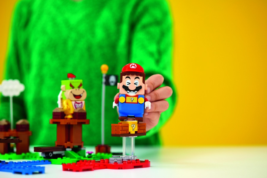 Super Mario Lego Set