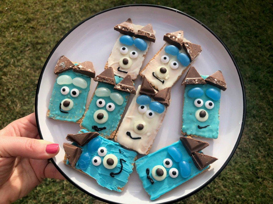 Bluey biscuits
