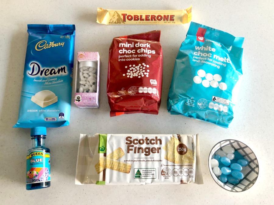 Bluey biscuits materials