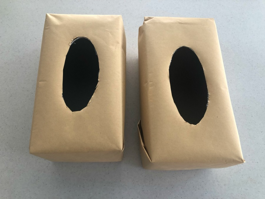 covered tissue boxes