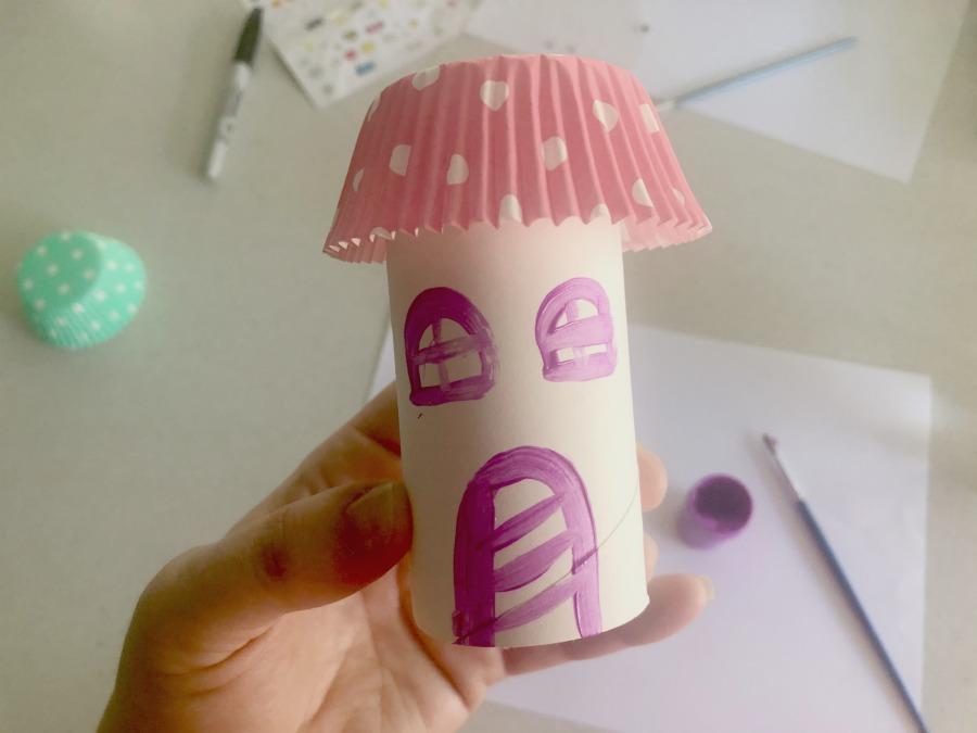 paint mini house