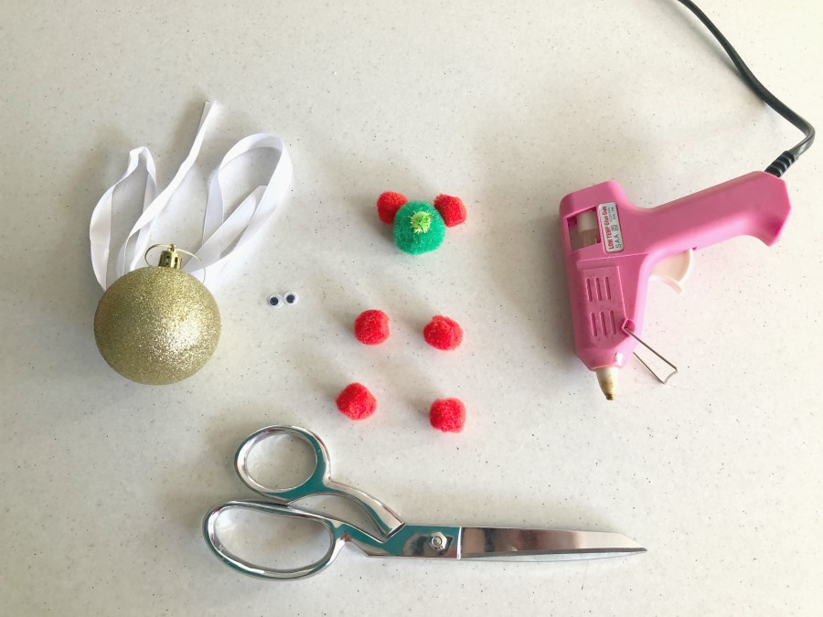 materials for christmas bear baubles