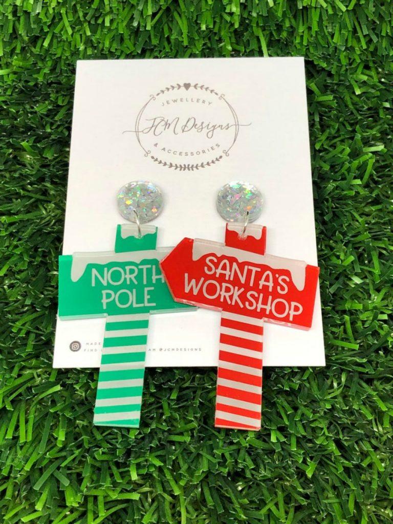 Santas Workshop Earrings