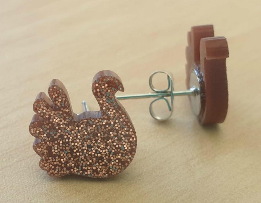 Turkey Stud Earrings