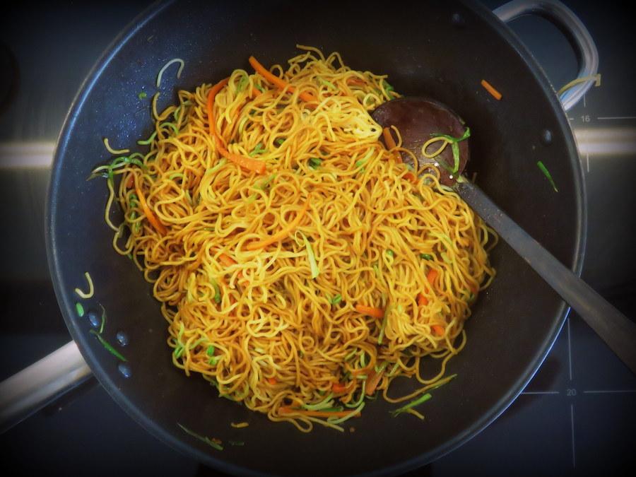 Fried Noodles Recipe - method