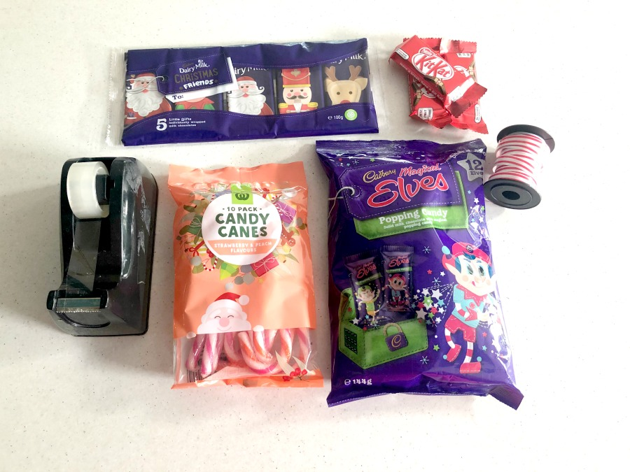 materials for chocolate sleigh