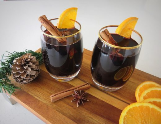 How to make mulled wine -- gift sachets