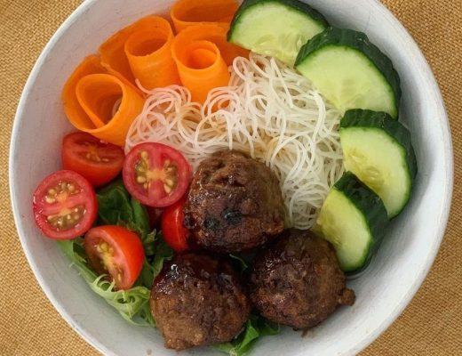 DIY Noddle Bowl family dinner idea