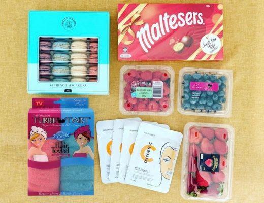 Pamper night gift pack idea