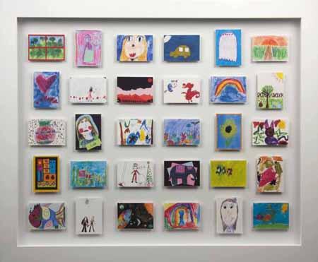 displaying children s artwork be a fun mum
