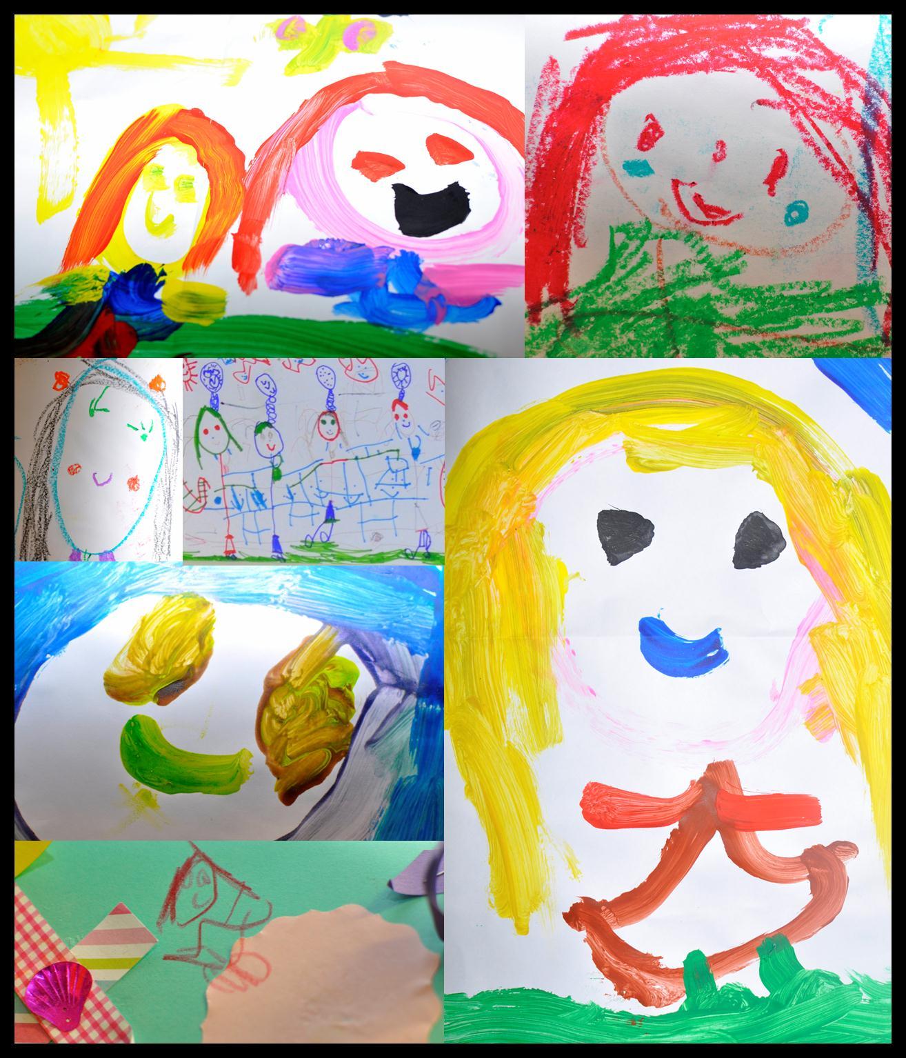 Part 2 storing children s art work be a fun mum for Art craft for children