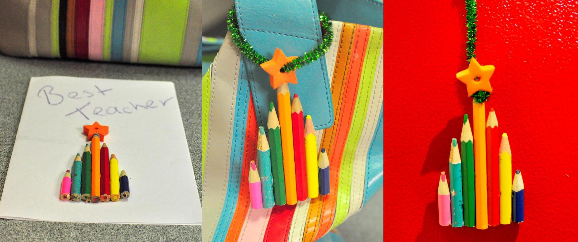 Christmas Craft: Christmas gift for teachers