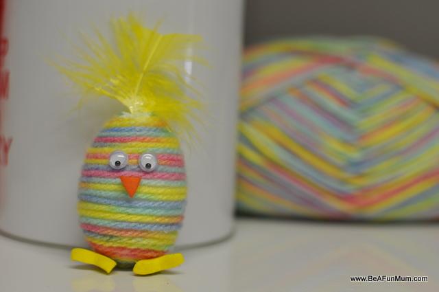 Wool Yarn Easter Egg Be A Fun Mum