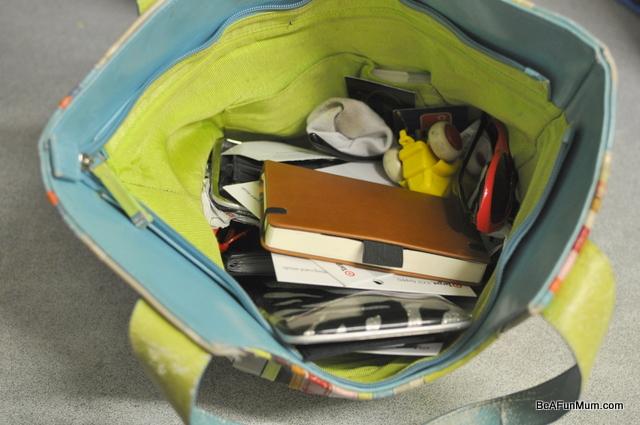 organising my handbag
