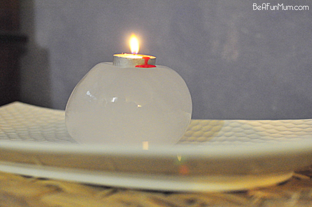ice candle holder