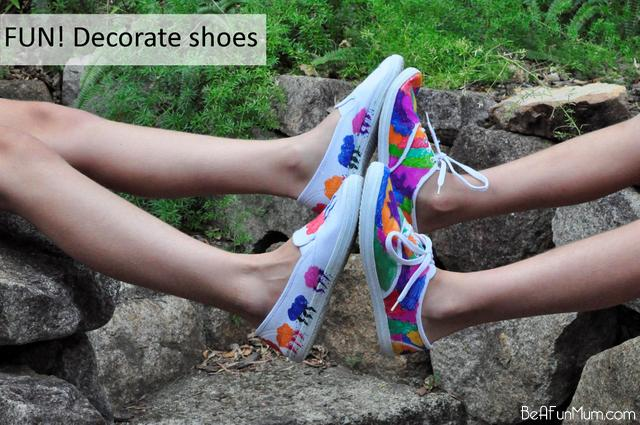 Design Your Own Shoes – Be A Fun Mum