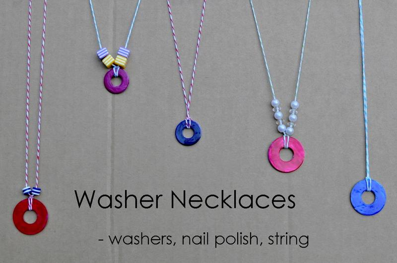 washer necklace