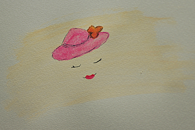 hat drawing