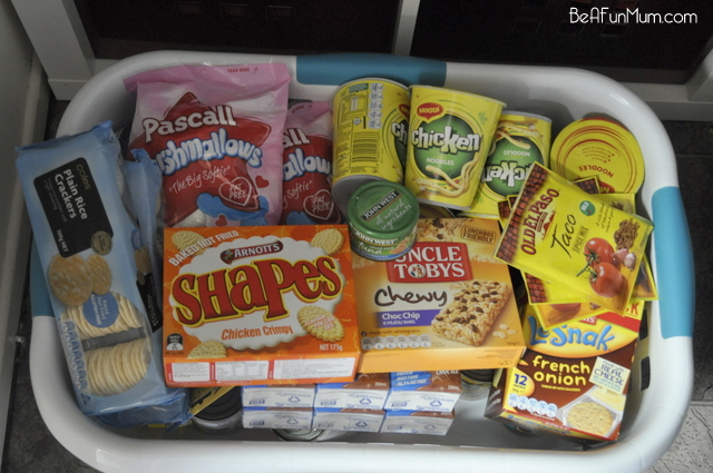 Packing Camping Food Be A Fun Mum