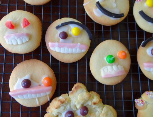 Basic Biscuit Recipe - great for decorating funny faces