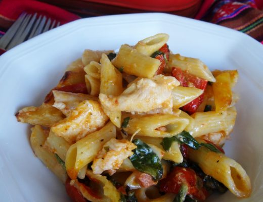 Chicken Pasta Bake Recipe