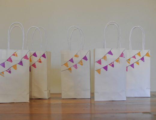 Washi Tape Loot Bags