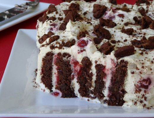 Black Forrest Cookie Cake